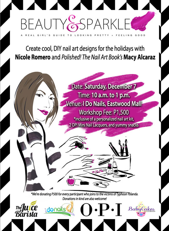 E-flyer-Nail Art Workshop