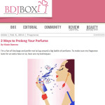 How To Prolong Your Perfume