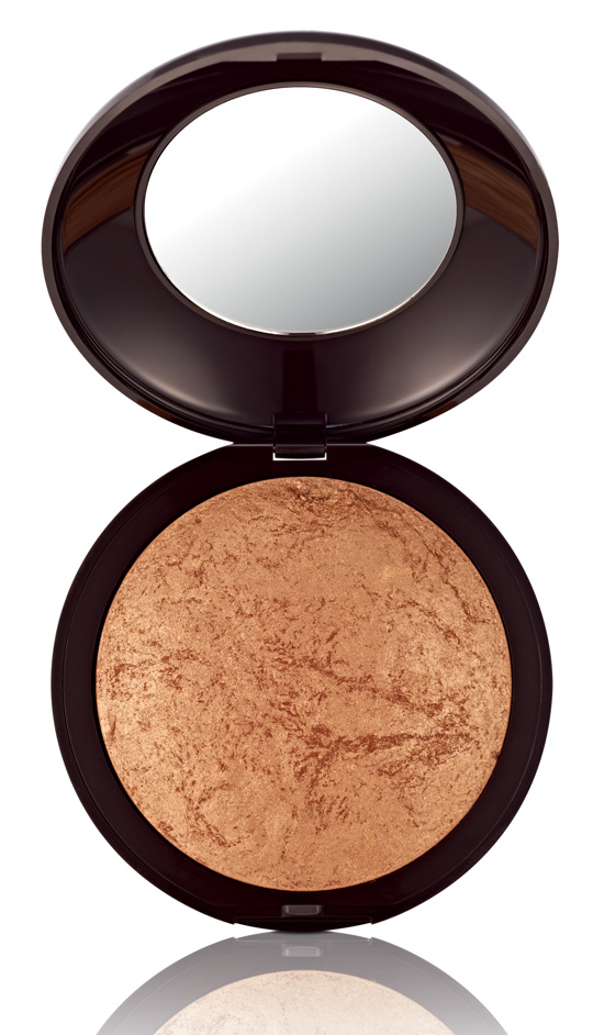 This baked bronzer will help you create the sunkissed effect.