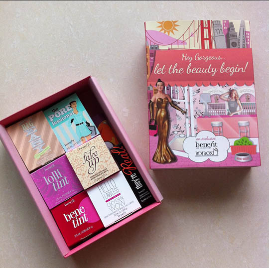 Giveaway Alert: BDJBox feat. Benefit Cosmetics  Beauty amp; Sparkle