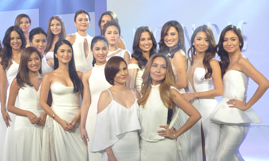 A closer look at some of the Philippines' most beautiful faces right here! There's Heart Evangelista, Cheska Kramer, Jasmine Curtis, Julia Barretto, and Kelly Misa to name a few.