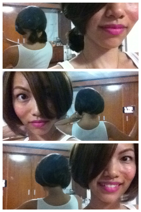 My step-by-step guide to creating a faux bob. Sooo fun!