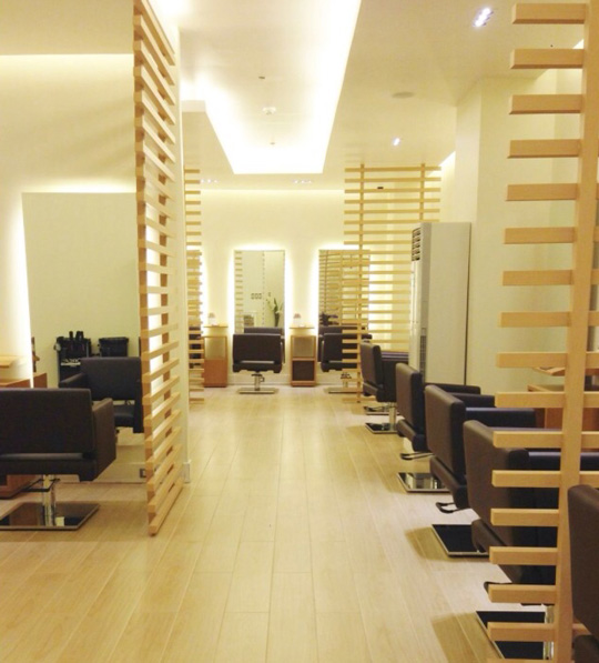 "Regine's Salon in Ortigas is chic and cozy. I love the little nooks that give you more privacy for ""me"" time."