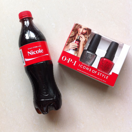 Thanks for sending these over, Rustan's! The OPI Icons of Style Duo Pack is P995. Share-a-Coke not included (darn!).