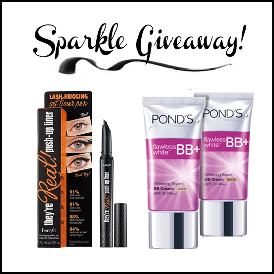 And because I love my readers so much, Pond's and I are giving these beauty essentials away!