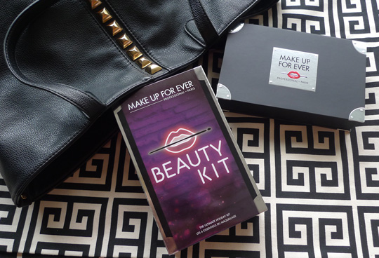 It's the Beauty Kit from Make Up For Ever's Backstage Pass Holiday Collection!