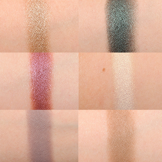 Such a gorgeous sheen + matte on these shadows. I love the color mix! Click here for more from Temptalia.