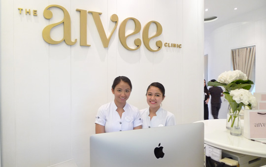 I set my appointment at the newly-opened Aiviee Clinic at the Mega Fashion Hall.