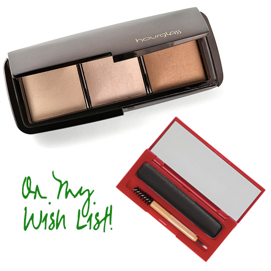 Want! The Hourglass Ambient Lighting Palette and the Besame Cake Mascara because I love vintage makeup!