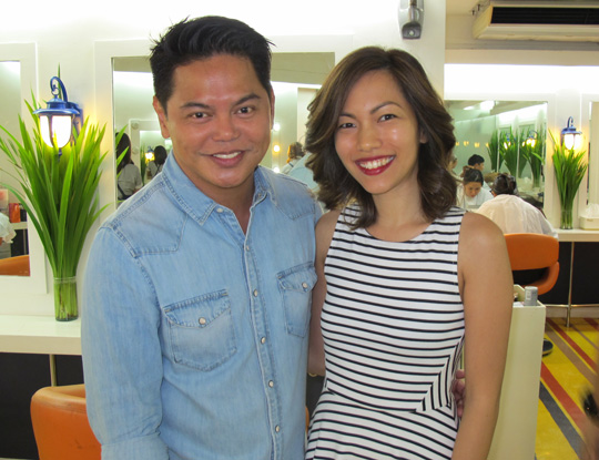 Thanks for my cut and color, Jing! Can't wait to see how this will grow out :)