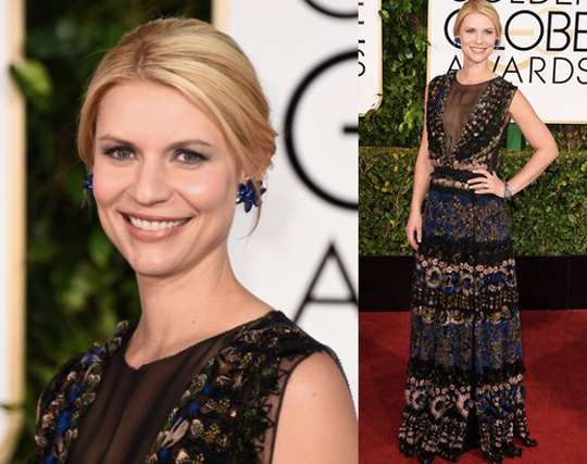 Look! Claire Danes used it, too! Celebrity makeup artist, Matin, used the same foundation to give the actress radiant skin.