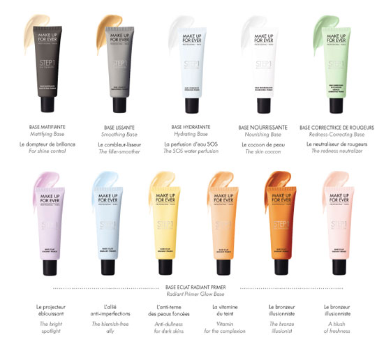 Primers are evolving! Check out these Skin Equalizers from Make Up For Ever—there's a beauty fix for every skin concern.