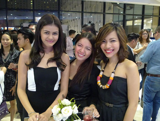 Of course, I was also at the launch to show my support. So happy I also got to hang with actress Janine Gutierrez (she's super nice!) and Monica Maceda of I Do Nails.