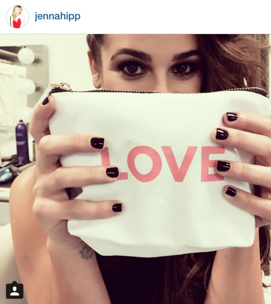 She's painted the famous digits of Lea Michele, Jennifer Lawrence, Michelle Williams, and Sienna Miller.