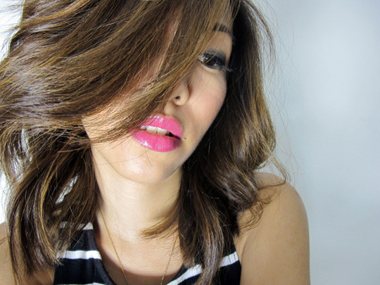 Do you like it? I think my hair is trying to steal the show though! Shoutout to Raven of Jing Monis for my fab blowout :)