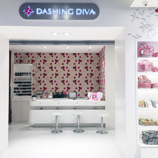 Who knew? There's a Dashing Diva hidden inside Beauty Bar's Central Square branch.