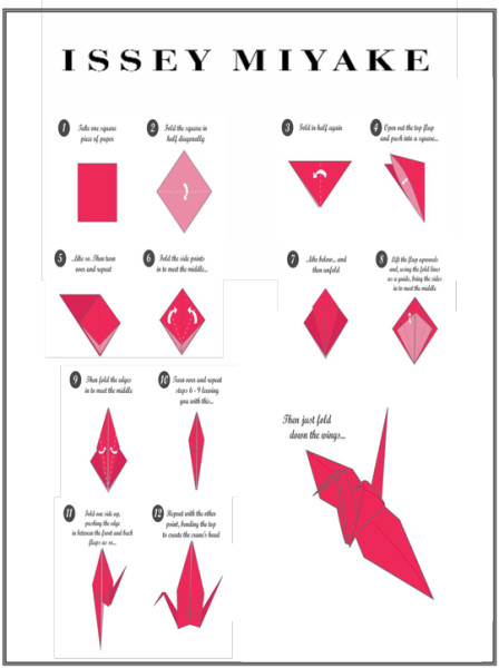 Review issey miyake city blossom beauty sparkle for How yo make a paper crane
