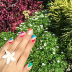 Today's Nails: Summer Edition!