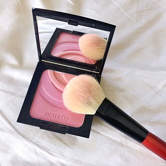 Hmm...I think I can still use this blush brush like one (or three!) more times.