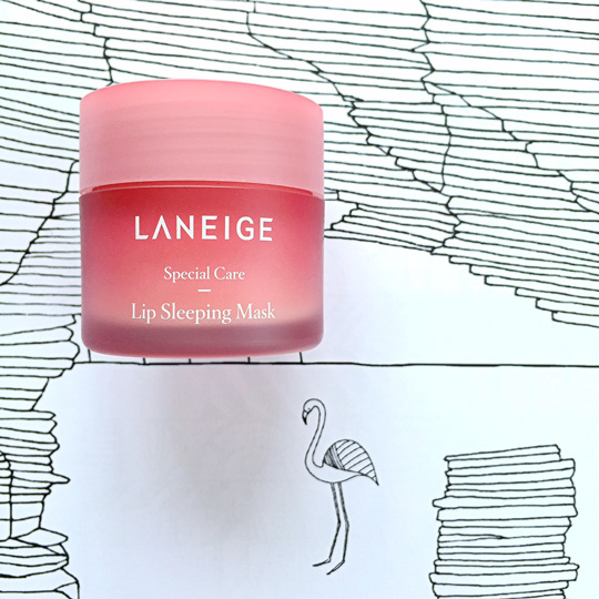 That's why I thought we should talk lip care for this Get Lippie Tuesday! Check out this new innovative product from Laneige (and the cute flamingo, hehe).
