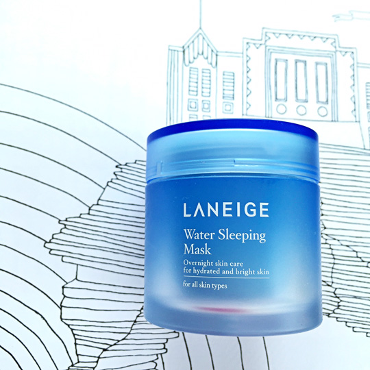 The reformulated Laneige Water Sleeping Pack, P???. You can actually use this every day now!