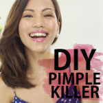 Sparkle TV: DIY Organic Pimple Clearing Solution