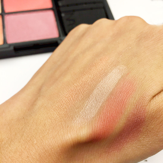 I thought it'd be more pigmented, but then again, this is probably better to avoid OD-ing on your blush!
