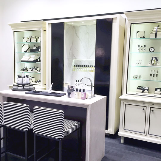 Such a pretty store! Read more about Jo Malone's philosophy scent layering here.