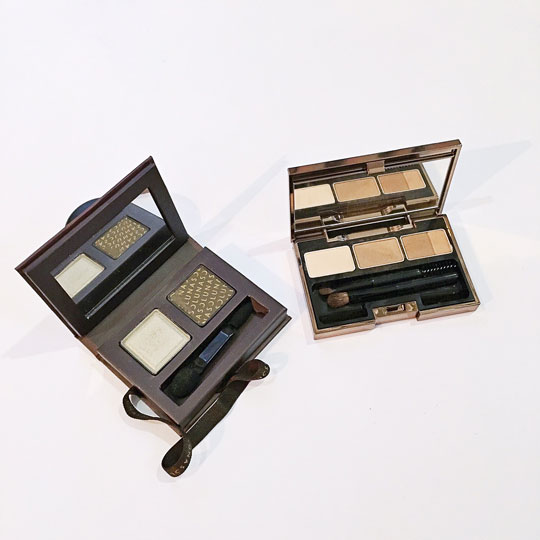 Here's a look at their choco-inspired eyeshadow and a multi-colored brow palette.
