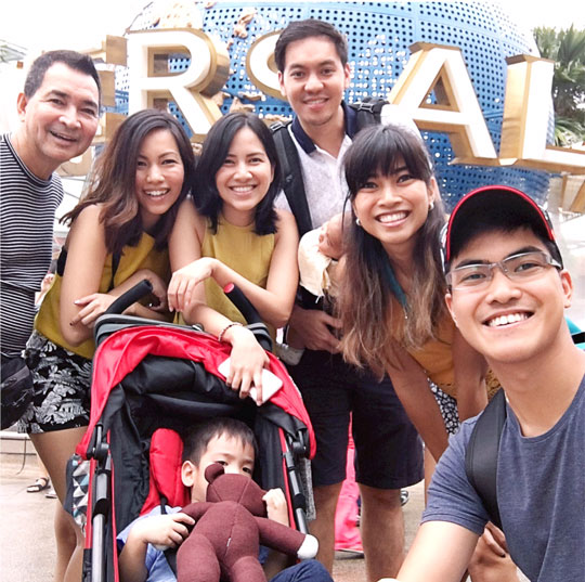 Yesterday, we went to Universal Studios SG for my birthdaaaaay!!!