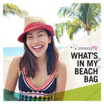 Sparkle TV: What's In My Beach Bag