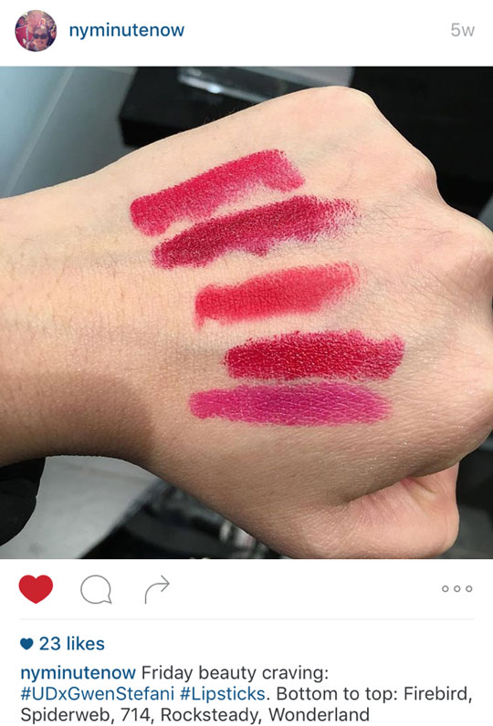 Saw this on Mariel's IG and the shades (listed in the photo's comments) are so pretty! Want, want, want!