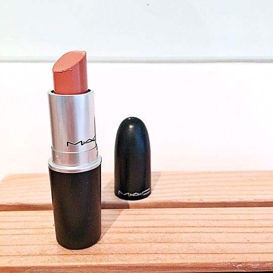 What I used: MAC Lustre Lipstick in Freckle Tone, P1,000.