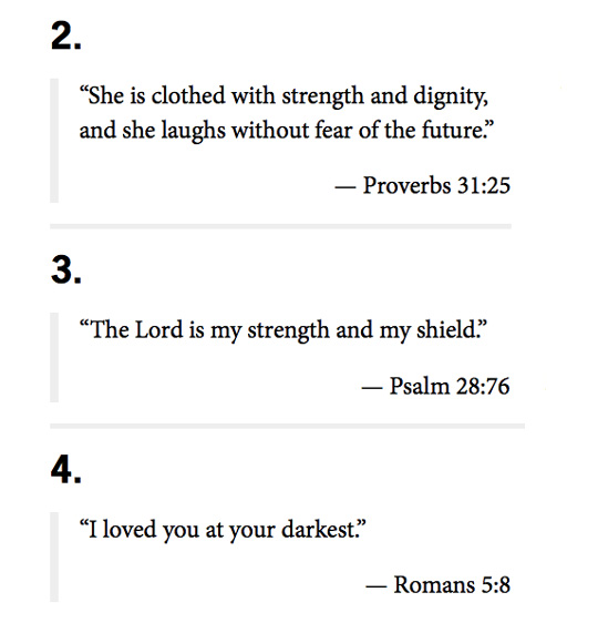 This was my favorite verse from the lot (and also, #4 and #5). Click here to check out the full list.