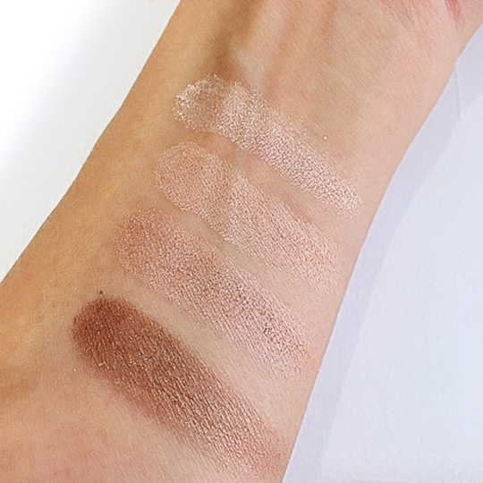 Swatched! Y'all know I love sparkles, but on eyeshadows, not so much.