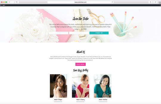 Try exploring their pretty website and join their mailing list for more info! Their blog posts are rich with insights + helpful how-tos.