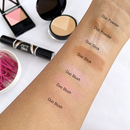 If you look at the swatches, everything is super soft and subtle—just the way I like it!