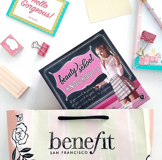 I'm giving away the Benefit Beauty School Knockouts set!