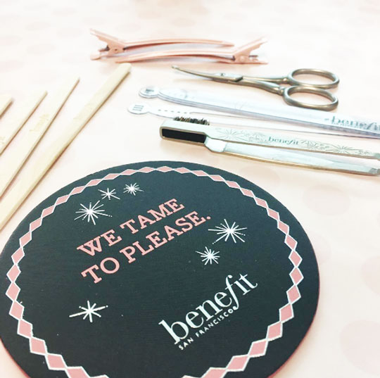 So what are you waiting for? Head on over to the nearest Benefit Brow Bar to shape your arches!