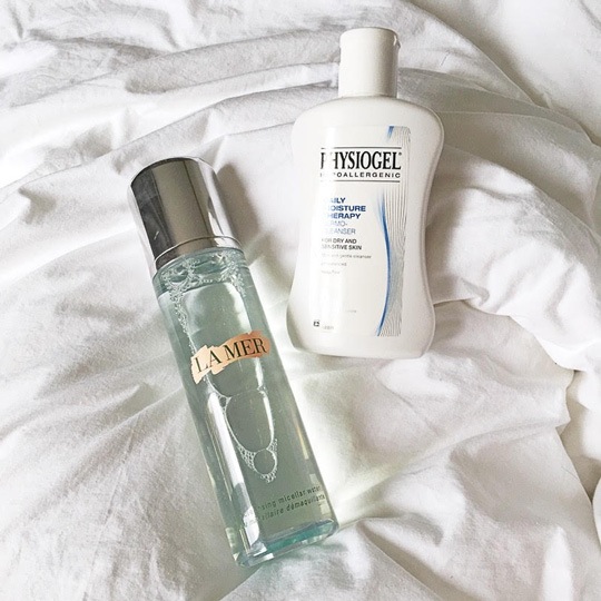 The winning combo that got my skin back on track: one drugstore and one luxe beauty find.