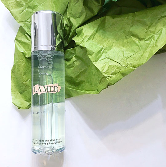 That's why I was so happy I found this in my stash! It's La Mer The Cleansing Micellar Water, P>>>.